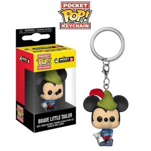 Llavero Funko Pop Mickey Brave Little Tailor Original Oferta