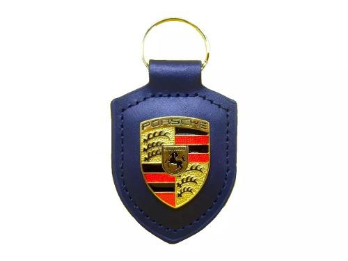 Llavero Porsche De Colección Piel Cayman Carrera 911