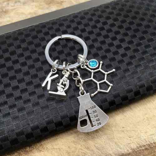 Llavero Química Molécula Regalo Llavero Personalizado