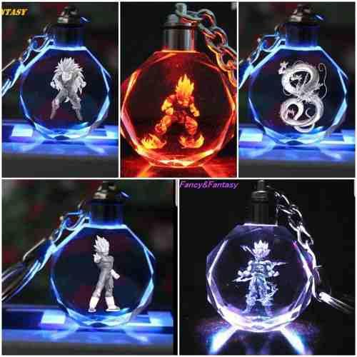 Llavero Shenlong Dragón Ball Z Súper Luz Led Envío Gratis