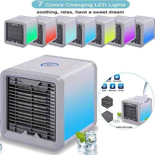 Max-cool Aire Acondicionado Portátil, 3 En 1 Mini Usb