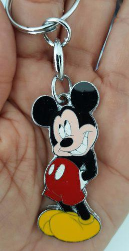 Mickey Mouse Precioso Llavero Metalico Mickey Mouse 1377