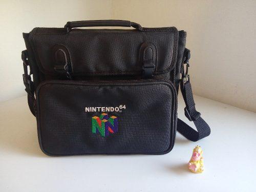 Mochila De Viaje Nintendo 64 Original N64