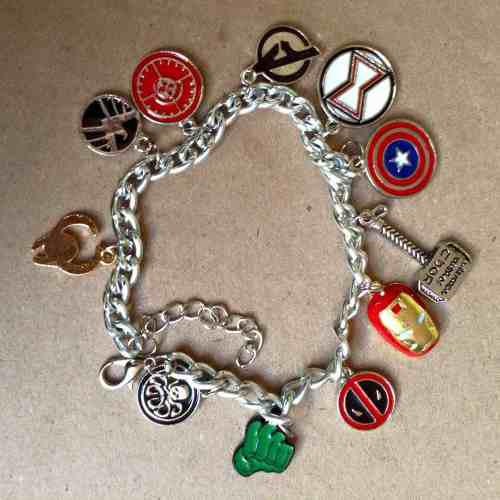Pulsera Marvel Avengers Capitán América