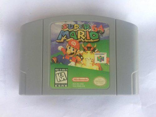 Súper Mario 64 Etiqueta Original Buen Estado