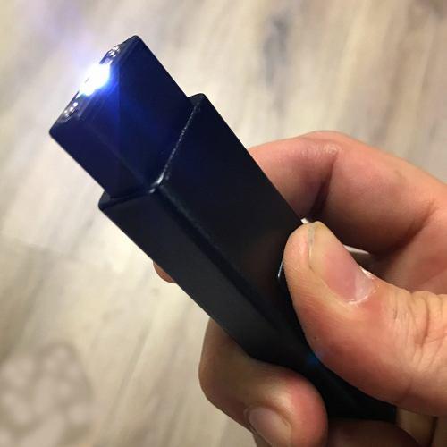 Stun Gun Paralizador Mini Usb Llavero Bolsillo Defensa