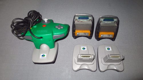 Transfer Pack Para Nintendo 64 *funcionando Al 100*