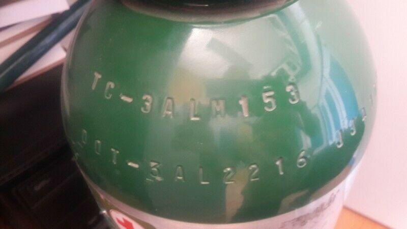 Vendo tanque de oxígeno portatil En buen estado