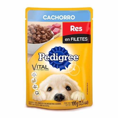 Alimento Para Perro Pedigree Res Cachorro 100 Gr