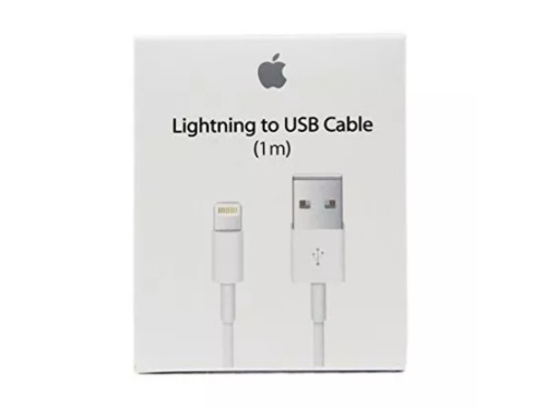 Cable Cargador Original Lightning 1m Iphone  X Ipad