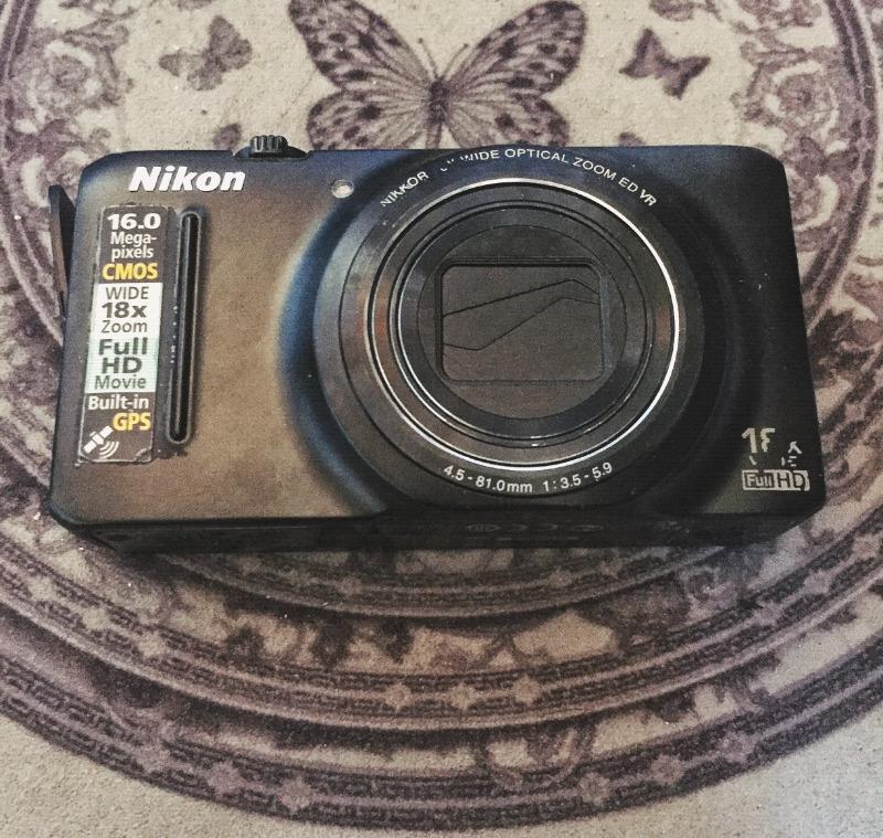 Camara fotográfica nikon coolpix s