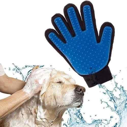 Guante Quita Pelos Cepillo Perro Carda Para Perro Mascota!