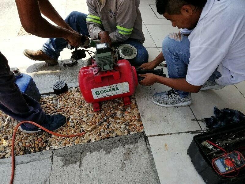Instalación de bombas hidroneumaticas en Veracruz.