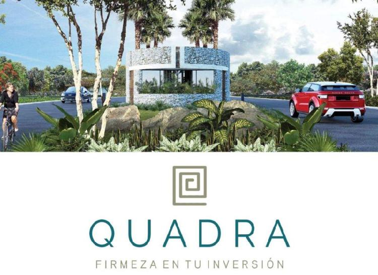 Lotes Residenciales de Inversion en Yucatan ¡A 5 minutos de