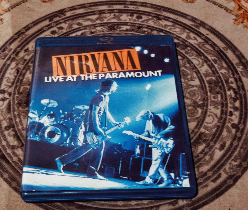 Nirvana live at the Paramount Blu-ray