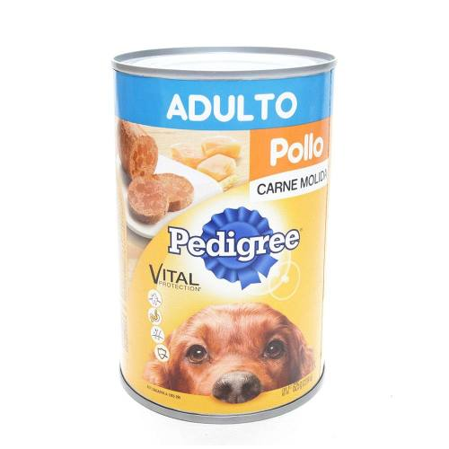 Pedigree Alimento Húmedo Para Perro Pollo Lata 625 Gr