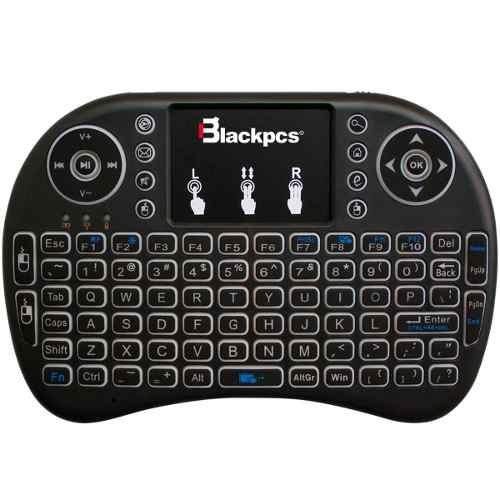 Teclado Portatil Ps4/pc/smarttv Air Mouse Touchpad Eo30t-bl