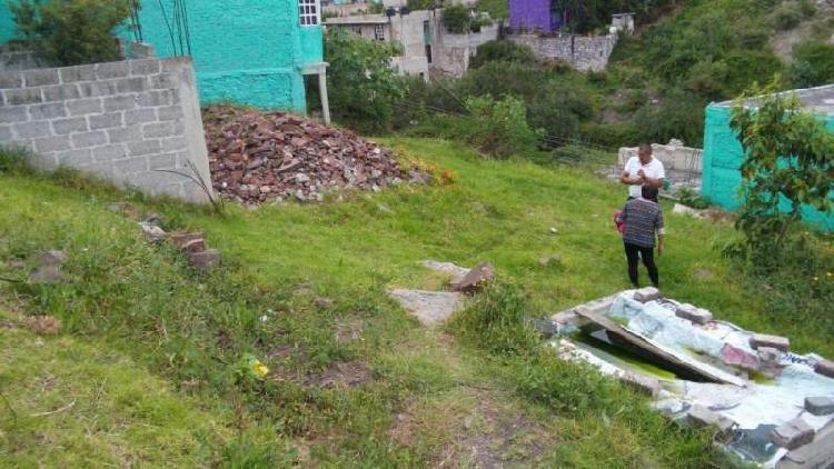 Vendo terreno de 283m2 en San Andres la Cañada en Ecatepec