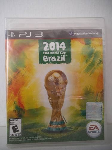 2014 Fifa World Cup Brazil Playstation Ps3 Juego Fisico