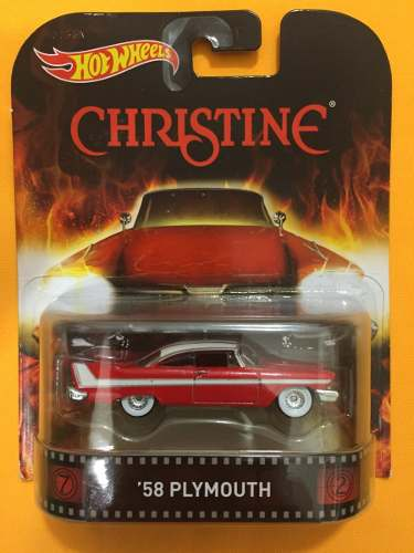 '58 Plymouth - Christine Hot Wheels Retro