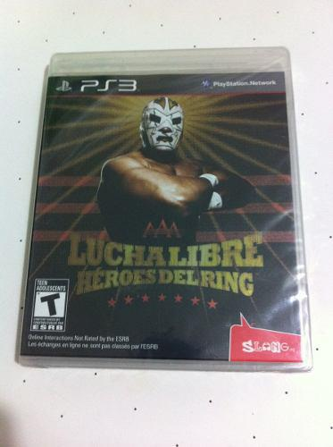 Aaa Lucha Libre Heroes Del Ring Juego Nuevo De Play Station3