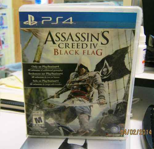 Assassin's Creed Iv Black Flag Ps3 Juego Usado