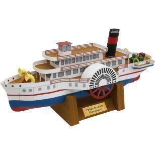 Barco De Vapor (para Armar En Opalina)