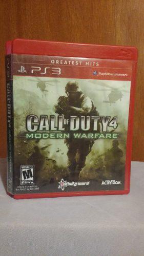 Call Of Duty 4 Modern Warfare Ps3 Playstation 3 Od.st