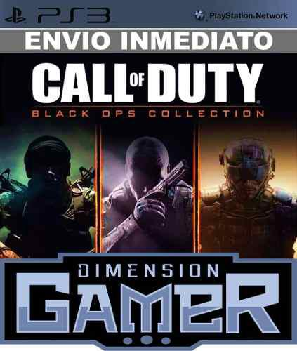 Call Of Duty Black Ops Collection Ps3 Psn Store Digtal