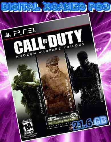 Call Of Duty Collection Modern Warfare Ps3 Digital