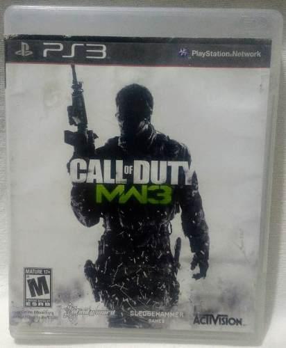 Call Of Duty Mw 3 Para Ps3 Usado