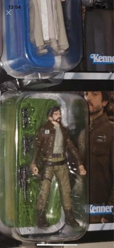 Cassian Andor Vc 130 Star Wars Vintage Collection