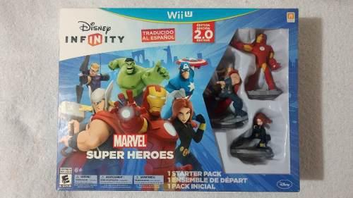 Disney Infinity 2.0 Marvel Super Heroes Para Wii U Oferta.!!