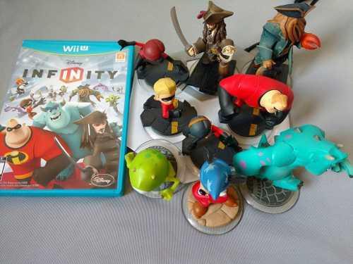 Disney Infinity Con Portal Y 9 Figuras Para Nintendo Wii U