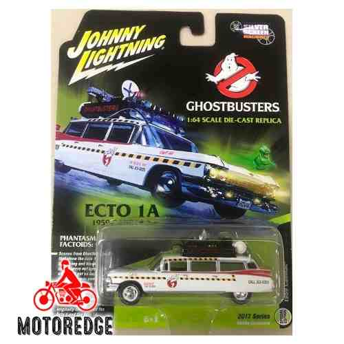 Ecto 1 Cazafantasmas Johnny Lightning 1/64 Ghostbusters New