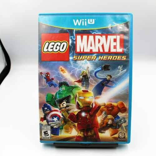 Envio Gratis Lego Marvel Super Heroes Wii U Barato