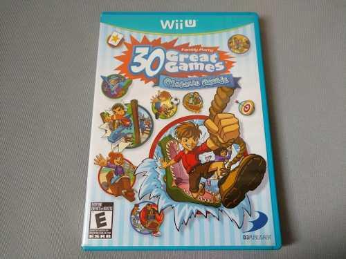 Family Party 30 Great Games Original Para Nintendo Wii U