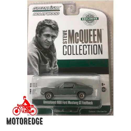 Ford Mustang Gt 390 Steve Mcqueen Bullitt 1/64 Greenlight