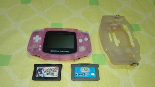 Game Boy Advance Con 2 Juegos