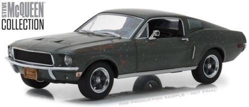 Greenlight 1:24 - Bullitt  Ford Mustang Gt Fastback