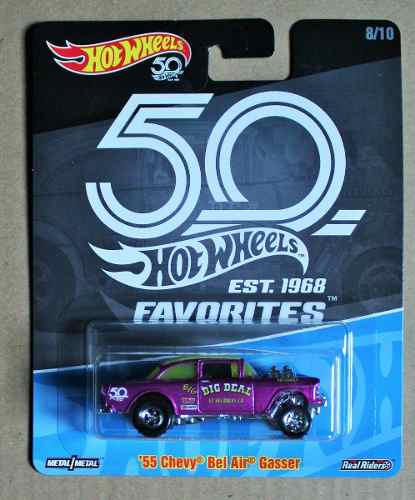 Hot Wheels Favorites 50th Aniversario Est  Serie 2 Chevy