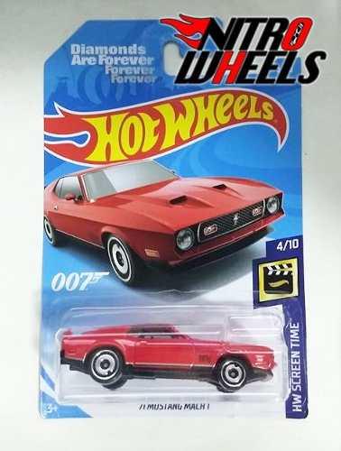 Hot Wheels Screen Time Mustang Mach