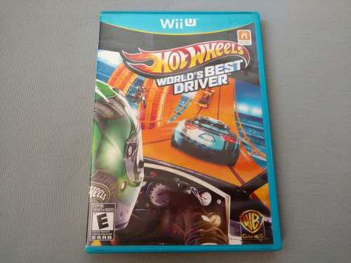 Hot Wheels World's Best Driver Original Para Nintendo Wii U