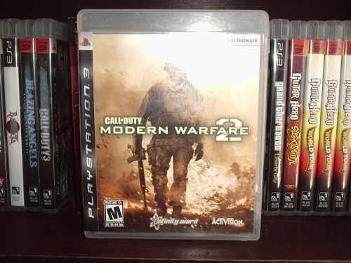 Juego 3 Ps3 Call Of Duty Modern Warfare 2 Mdn