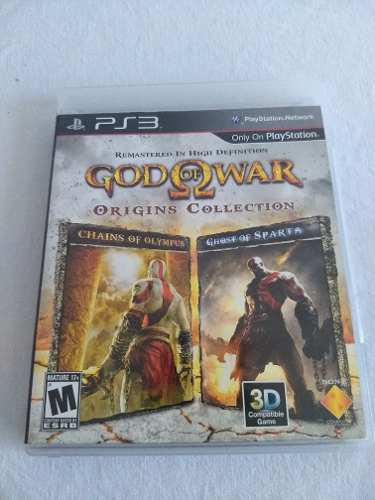 Juego God Of War Origins Collection Playstation 3 Envío