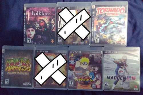 Juegos De Ps3 En Venta Y Juegos De Switch Leer Descripcion