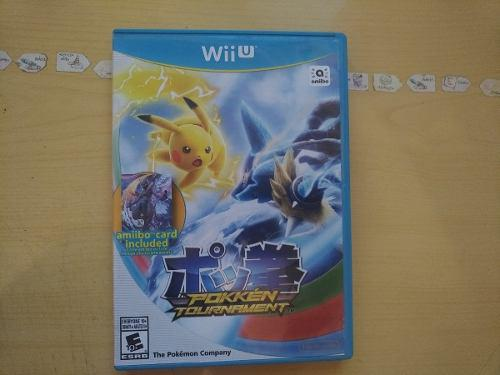 Juegos Wii U Pokemon Pokken Tournament