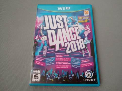 Just Dance 2018 Original Para Nintendo Wii U