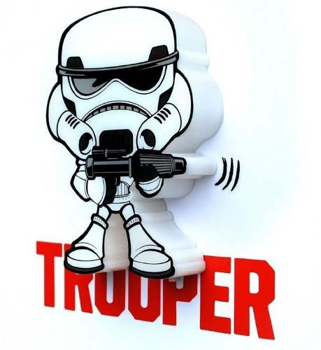Lampara Star Wars Mini Trooper Stormtrooper Led Original