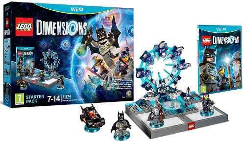 Lego Dimensions Starter Pack Wii U ¡nuevo Sellado!